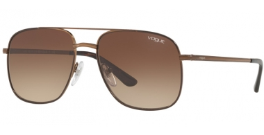 Sunglasses - Vogue - VO4083S BY GIGI HADID - 5074/13 COPPER // BROWN SHADED