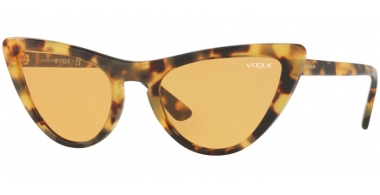 Sunglasses - Vogue - VO5211S BY GIGI HADID - 2605/7 BROWN YELLOW TORTOISE // ORANGE