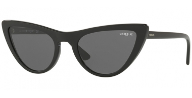 Sunglasses - Vogue - VO5211S BY GIGI HADID - W44/87 BLACK // GREY