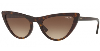 Sunglasses - Vogue - VO5211S BY GIGI HADID - W65613 DARK HAVANA // BROWN GRADIENT