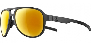 Sunglasses - Adidas - AD33 PACYR - 6700 MATTE GREY // GOLD MIRROR