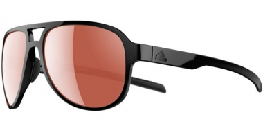 Sunglasses - Adidas - AD33 PACYR - 9100 SHINY BLACK // LST™ ACTIVE SILVER
