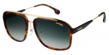 Sunglasses - Carrera - CARRERA 133/S - 2IK (9K) HAVANA GOLD // GREEN GRADIENT