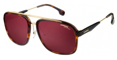 Sunglasses - Carrera - CARRERA 133/S - 2IK (W6) HAVANA GOLD // BURGUNDY POLARIZED ANTIREFLECTION