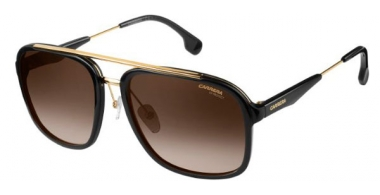 Sunglasses - Carrera - CARRERA 133/S - 2M2 (HA) BLACK GOLD // BROWN GRADIENT