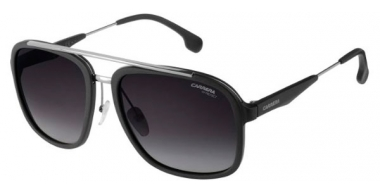 Sunglasses - Carrera - CARRERA 133/S - TI7 (9O) RUTHENIUM MATTE BLACK // DARK GREY GRADIENT