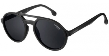 Sunglasses - Carrera - CARRERA PACE - 003 (IR) MATTE BLACK // GREY BLUE