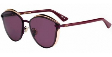 Gafas de Sol - Dior - DIOR MURMURE LIMITED EDITION - P84 (C6) MATTE BURGUNDY COPPER GOLD // DARK PURPLE