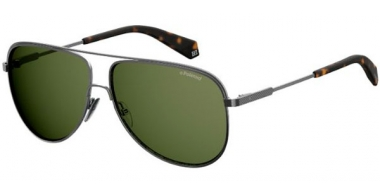 Gafas de Sol - Polaroid - PLD 2054/S - KJ1 (UC) DARK RUTHENIUM // GREEN POLARIZED