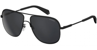 Sunglasses - Polaroid - PLD 2055/S - 003 (M9) MATTE BLACK // GREY POLARIZED