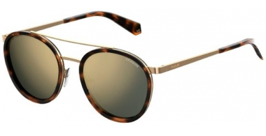 Gafas de Sol - Polaroid - PLD 6032/S - 086 (LM) DARK HAVANA // GREY GOLD MIRROR POLARIZED