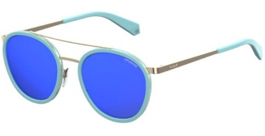 Gafas de Sol - Polaroid - PLD 6032/S - 1ED (5X) GREEN // GREY BLUE MIRROR POLARIZED