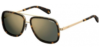 Sunglasses - Polaroid - PLD 6033/S - 086 (LM) DARK HAVANA // GREY GOLD MIRROR POLARIZED