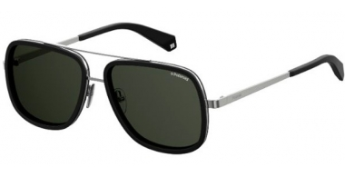 Sunglasses - Polaroid - PLD 6033/S - 807 (M9) BLACK // GREY POLARIZED