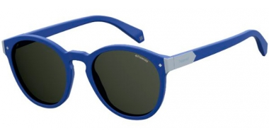Sunglasses - Polaroid - PLD 6034/S - PJP (M9) BLUE // GREY POLARIZED