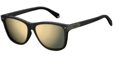Gafas de Sol - Polaroid - PLD 6035/S - 807 (LM) BLACK // GREY GOLD MIRROR POLARIZED