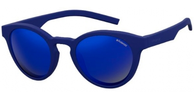 Sunglasses - Polaroid - PLD 7021/S - PJP (5X) BLUE // GREY BLUE MIRROR POLARIZED