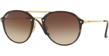 Gafas de Sol - Ray-Ban® - Ray-Ban® RB4292N BLAZE DOUBLEBRIDGE - 710/13 LIGHT HAVANA // BROWN GRADIENT