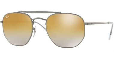 Gafas de Sol - Ray-Ban® - Ray-Ban® RB3648 MARSHAL - 004/I3 GUNMETAL // BROWN MIRROR SILVER GRADIENT GREY