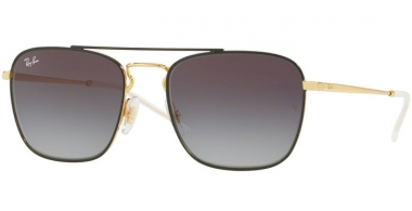 Gafas de Sol - Ray-Ban® - Ray-Ban® RB3588 - 90548G GOLD ON TOP BLACK // GREY GRADIENT DARK GREY