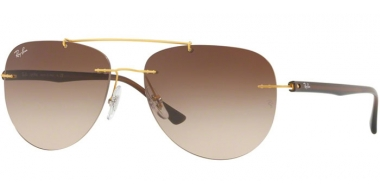 Gafas de Sol - Ray-Ban® - Ray-Ban® RB8059 - 157/13   GOLD // BROWN GRADIENT
