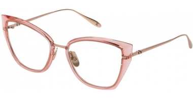 Monturas - Carolina Herrera New York - VHN054M  - 08FC  LIGHT PINK SHINY COPPER GOLD