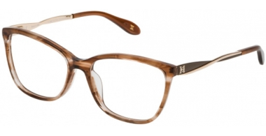 Frames - Carolina Herrera New York - VHN581C - 09BK BROWN HORN