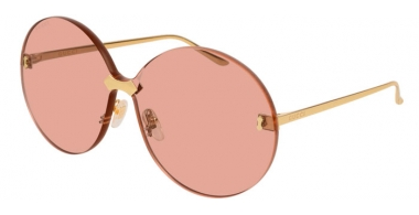 Sunglasses - Gucci - GG0353S - 003 GOLD // LIGHT PINK