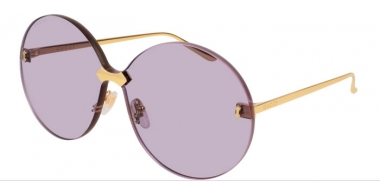 Sunglasses - Gucci - GG0353S - 004 GOLD // LIGHT VIOLET