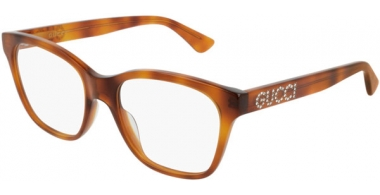 Frames - Gucci - GG0420O - 004 LIGHT HAVANA