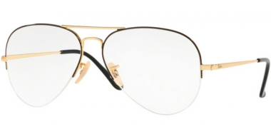 Frames - Ray-Ban® - RX6589 - 2946 GOLD TOP BLACK