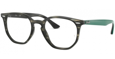 Frames - Ray-Ban® - RX7151 - 5800 GREY GREEN HAVANA