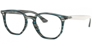 Frames - Ray-Ban® - RX7151 - 5801 BLUE GREY STRIPPED