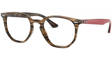Frames - Ray-Ban® - RX7151 - 5802 BROWN GREY STRIPPED