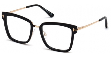 Lunettes de vue - Tom Ford - FT 5507 - 001 SHINY BLACK
