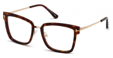 Lunettes de vue - Tom Ford - FT 5507 - 054 RED HAVANA