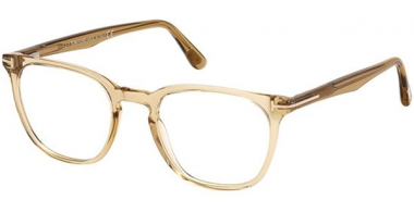Frames - Tom Ford - FT 5506 - 045 TRANSPARENT LIGHT BROWN