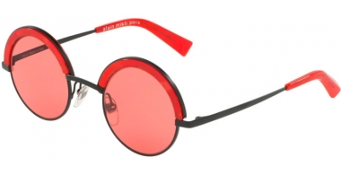 Sunglasses - Alain Mikli - A04003 631 - 105584 MATTE BLACK RED // PINK