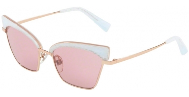 Sunglasses - Alain Mikli - A04005 ALOUETTE - 002/84 PONTILLE' WHITE ROSE GOLD // LIGHT PINK