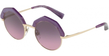 Gafas de Sol - Alain Mikli - A04006 SITELLE - 003/90 LIGHT SHINY GOLD PONTILLE' VIOLET // LIGHT VIOLET GRADIENT GREY