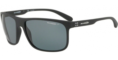Sunglasses - Arnette - AN4244 BUSHING - 01/81 MATTE BLACK // GREY POLARIZED