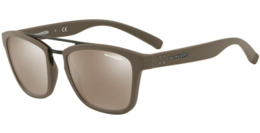 Gafas de Sol - Arnette - AN4247 HUAKA - 25675A MATTE GREEN // LIGHT BROWN MIRROR GOLD