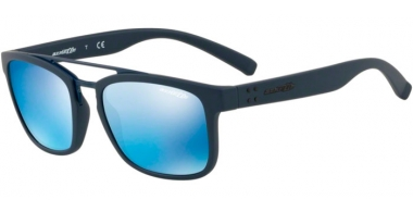 Sunglasses - Arnette - AN4248 BALLER - 215355 BLUE RUBBER // BLUE MIRROR BLUE