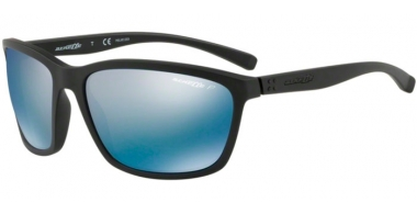 Sunglasses - Arnette - AN4249 HAND UP - 01/22 MATTE BLACK // BLUE MIRROR POLARIZED