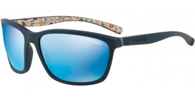Sunglasses - Arnette - AN4249 HAND UP - 255155 BLUE RUBBER // BLUE MIRROR BLUE