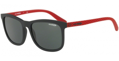 Sunglasses - Arnette - AN4240 CHENGA - 250671 MATTE BLACK RED // GREY