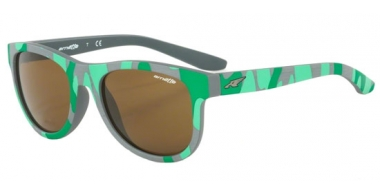 Gafas de Sol - Arnette - AN4222 CLASS ACT - 235187 MATTE GREEN CAMO ON GREY // DARK GREY