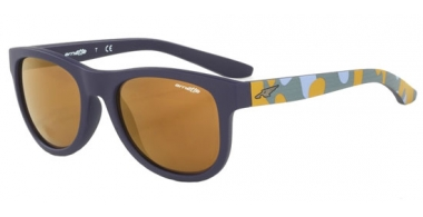 Gafas de Sol - Arnette - AN4222 CLASS ACT - 23537D MATTE DARK BLUE // MIRROR GOLD
