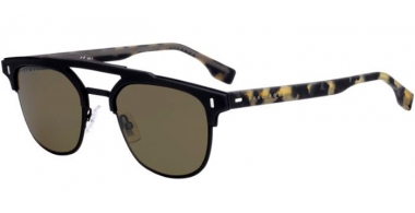 Sunglasses - BOSS Hugo Boss - BOSS 0968/S - 003 (70)  MATTE BLACK // BROWN