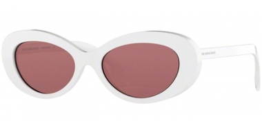 Sunglasses - Burberry - BE4278 - 300775 WHITE // DARK VIOLET